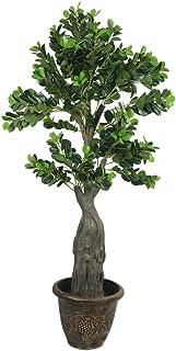 YATAI نبات صناعي طبيعي تقريبًا 1.8 متر شجرة صناعية عالية لتزيين المنزل والحديقة – نباتات مكتبية – داخلية/خارجية