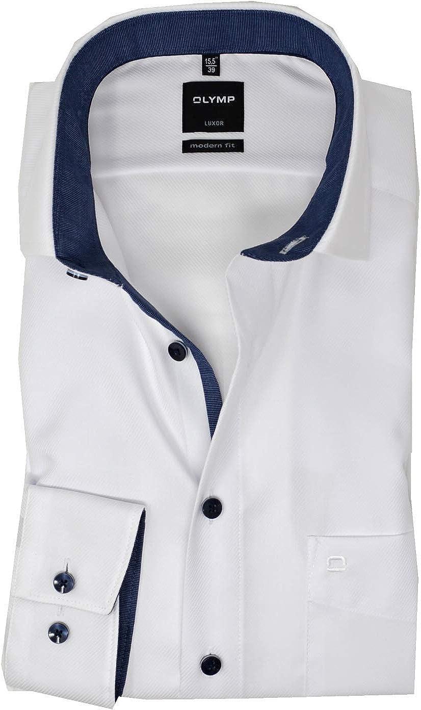 Olymp Luxor Modern Fit Global Kent Blanc