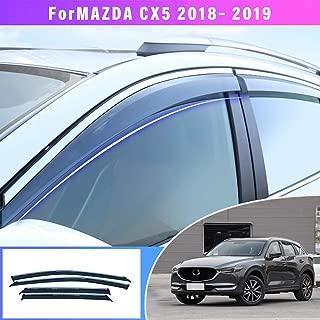 SCOUTT HDMA504 Motorhaube Windabweiser Insekten Steinschlagsch/ütz Mazda CX-5 2012-2016