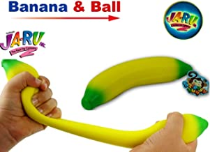 Soft and Bouncy Ball Stretches Long 2 Pack 6448-2p Delicious JA-RU Stretchy Poopster