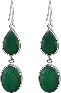 925 Sterling Silver Jewelry Ruby gemstone/big Pendant 20.38 g cci