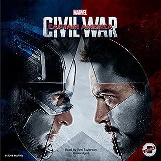 Marvel's Captain America: Civil War cover art