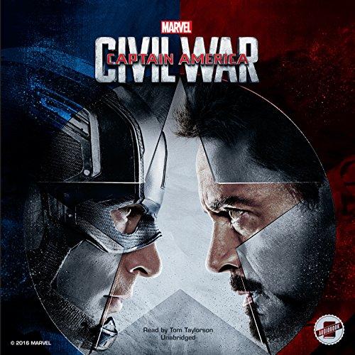 Marvel's Captain America: Civil War audiobook cover art