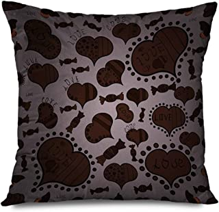 Ahawoso Throw Pillow Cover Square 18x18 Inch Rhinestones Jewel Merry Christmas Pattern Snowflakes Abstract Glamour Colorful Applique Objects Decorative Zippered Pillowcase Home Decor Cushion Case