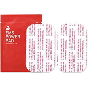 EMS POWER PAD EMS 汎用互換ジェルシート 交換パッド 日本企業開発 腹筋用 または ウェスト 腕 脚用 トレーニング EMS機器 腹筋ベルト 互換パッド 互換品