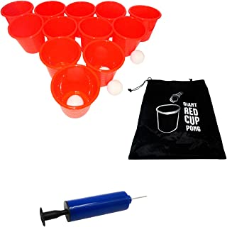 "Trademark Innovations Giant 9.5"" Tall Outdoor Pong Lawn Yard Game"
