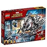 LEGO Super Heroes Exploradores del Reino Cuántico, juguete de construcción, incluye minifiguras de La Avispa, Ant-Man y Ghost (76109)