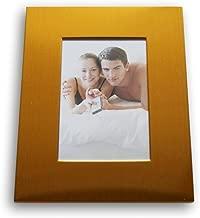"Sturdy Metallic Stand Up Decorative Photo Frame - 5.6'' x 7.1'' 5"" x 7"" Blue"