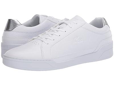 Lacoste Challenge 120 3 (White/Silver) Men
