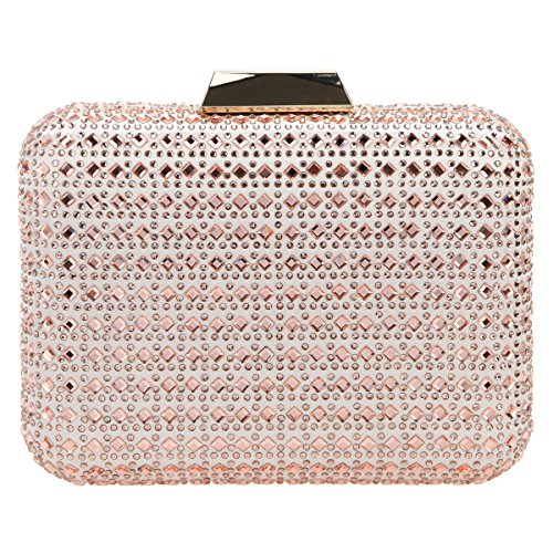 Bonjanvye Bling Crystal Rhinestone Clutches for Women Evening Clutch...