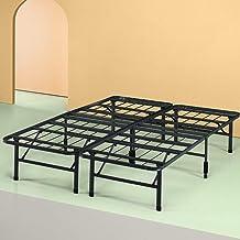 Zinus Shawn 14 Inch Metal SmartBase Bed Frame / Platform Bed Frame / No Box Spring Needed / Sturdy Steel Frame / Underbed ...