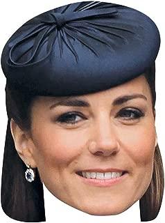 Kate Middleton Celebrity Mask, Card Face and Fancy Dress Mask