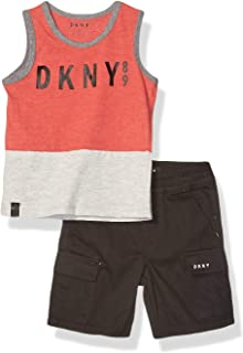 DKNY Boys Tank Top and Short Set Shorts Set