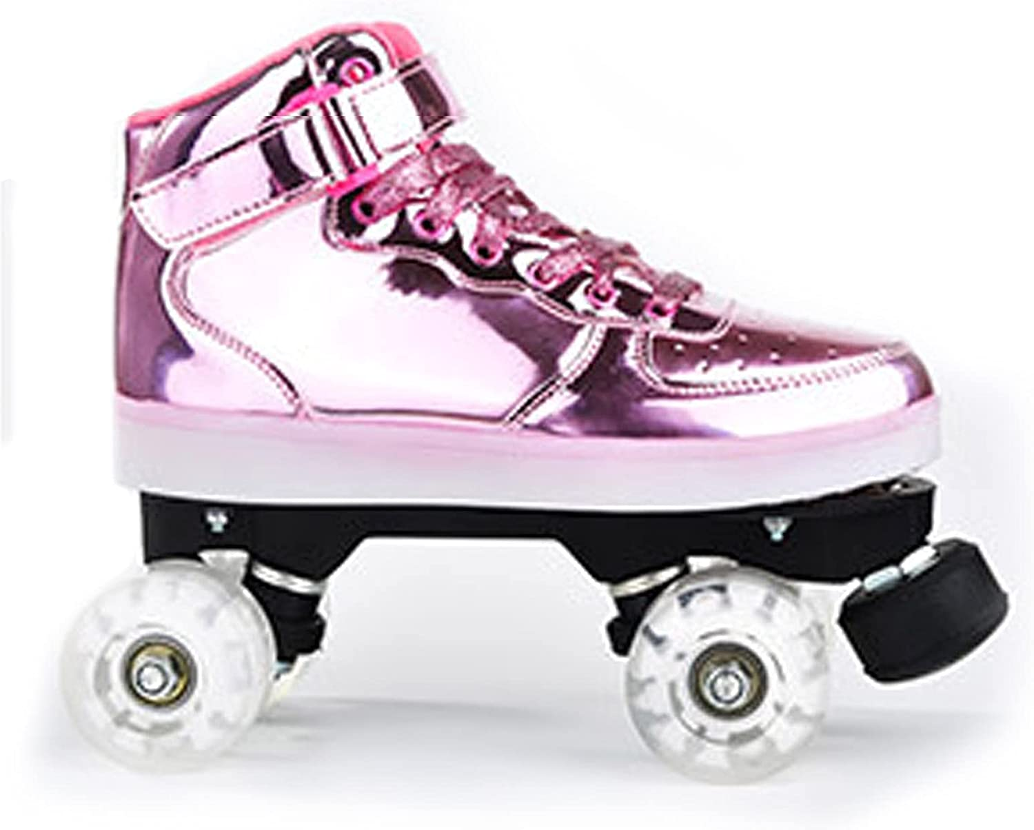 ZHUAN Roller Skate Shoes Double Adult Ro Row Today's SALENEW very popular! only Rechargeable Flash