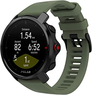 Polar Grit X – Robust Outdoor Klocka Med GPS, Kompass, Höjdmätning, Hållbarhet på Militär Nivå För Vandring, Terränglöpnin...