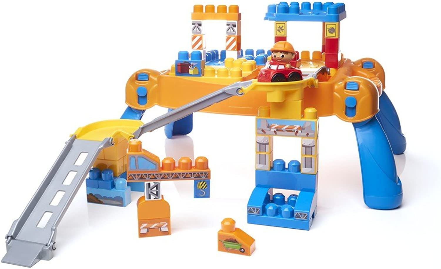 Mega Bloks First Builders N' Go Table Building Blocks N N N 4546f7