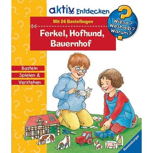 Ravensburger 02580 WWW AktivBox Ferkel,Hofhund,Bauern.