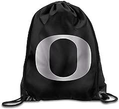 Oregon Ducks Platinum Logo Drawstring Backpack Bag