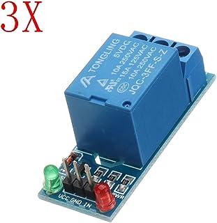 ILS – 3 piezas 5 V bajo nivel Trigger One 1 módulo relé manga tarjeta interfaz Shield DC AC 220 V
