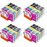 NTT - Cartuchos de Tinta compatibles con Canon 550/551, Color Sparset 20 Patronen