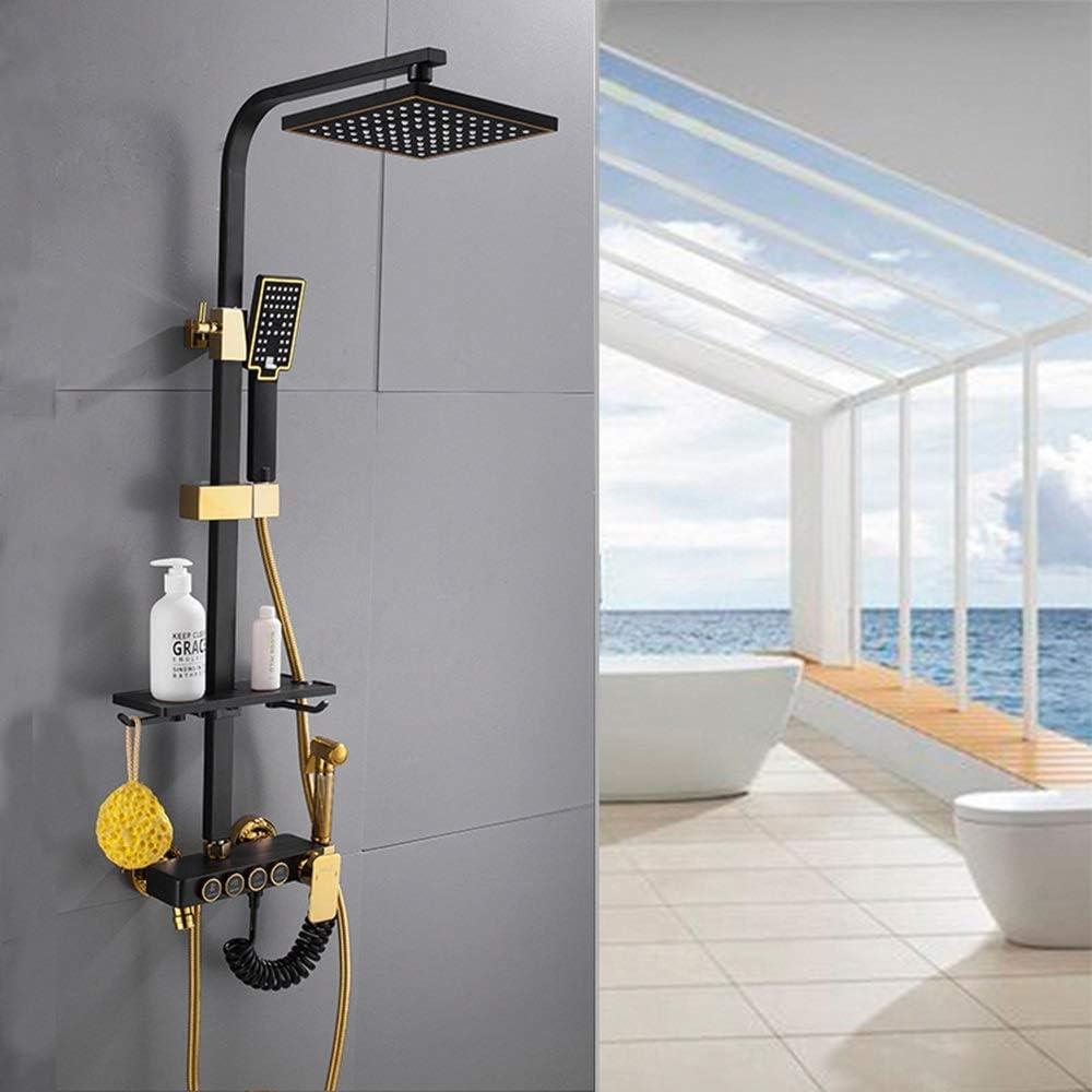 ZKS-KS Modern 55% OFF Copper Bathroom Shower Cash special price Retr Hand Set System