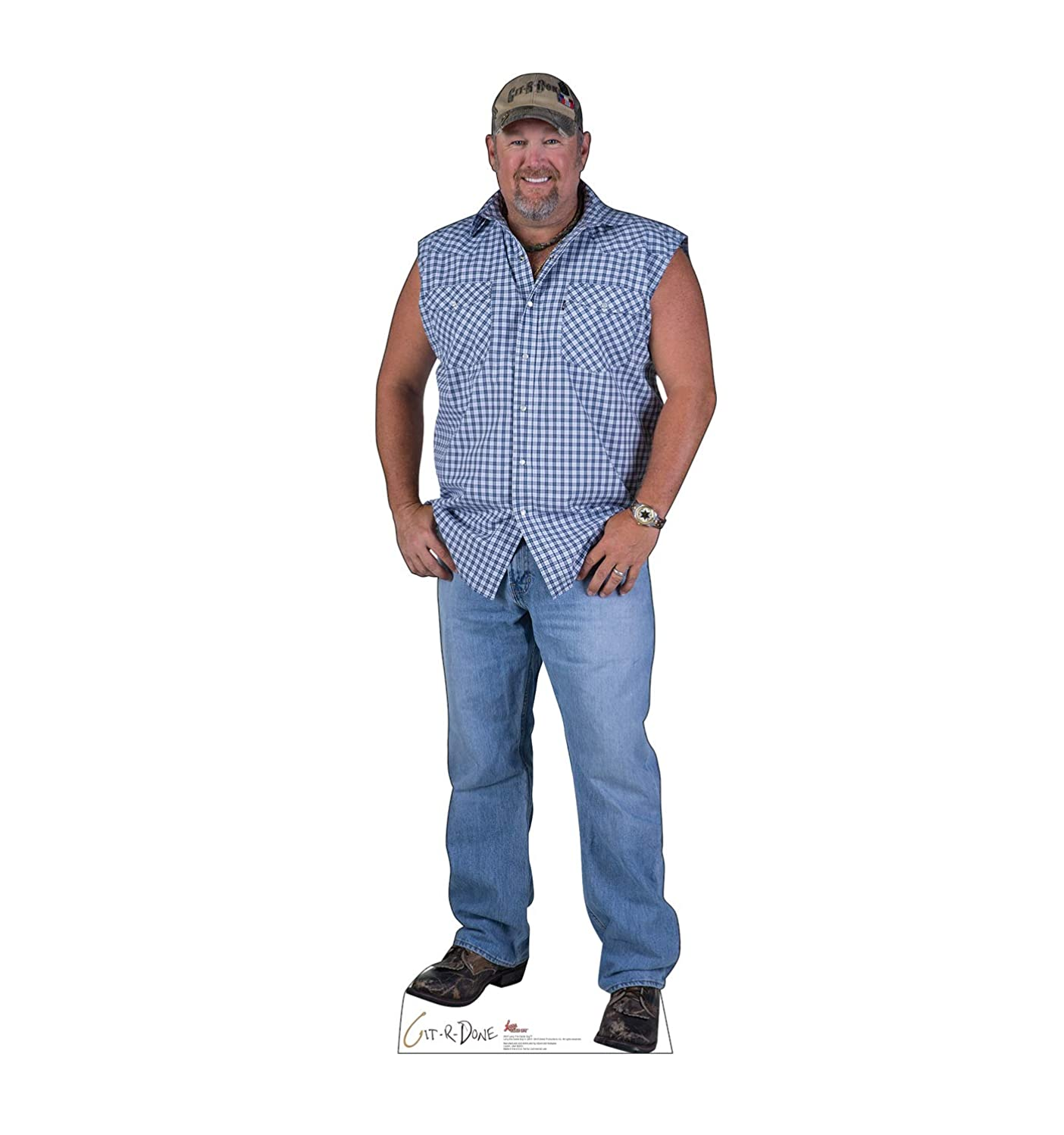 Advanced Graphics Larry The Cable Guy Life Size Cardboard Cutout Standup