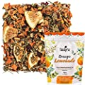 Tealyra - Orange Lemonade - Hibiscus - Eucalyptus - Lemongrass - Herbal Fruity Loose Leaf Tea Blend - Vitamins Rich - Boost Immune System- 100% Natural – Hot and Iced - Caffeine-Free - 110g (4-ounce) by Tealyra