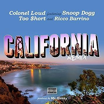 California (feat. Too $hort, Snoop Dogg & Ricco Barrino) [Remix] - Single
