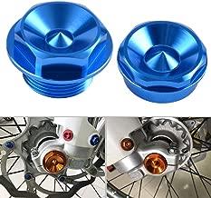 Nicecnc Blue Front Wheel Spindle Nuts Screws Replace Husaberg FE/FX/TE 2009-2014 FE 250 350 390 450 501 FE570 TE125 TE250,Husqvarna ALL 2014-2016 (Except TC/FC 2016)