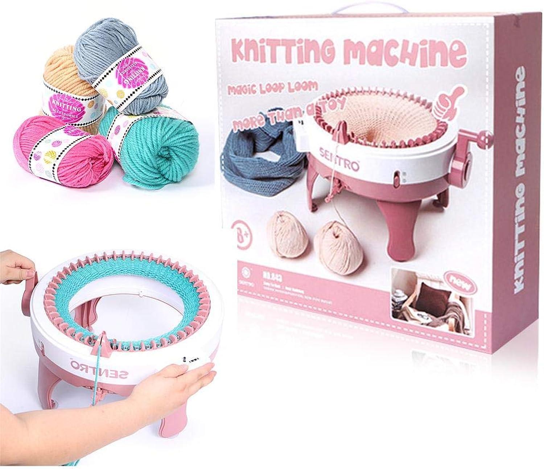 Sroomcla - Kit per Lavorare a Maglia, per Bambini, Smart Weaver
