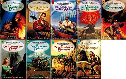 Der Cheysuli Zyklus 9 Bände: Wolfsmagie; Das Lied von Homana; Das Vermächtnis des Schwertes; Die Fährte des weißen Wolfes; Die Ehre der Prinzen; Die Tochter des Löwen; Der Flug des Raben; Ein Gobelin mit Löwin; Löwenmagie