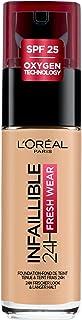 L'Oréal Paris Infaillible 24H Fresh Wear Make-up 200 Golden Sand, hoge dekking, langdurig, waterdicht, ademend, 30ml