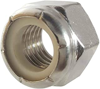 Stainless Steel Nylon Insert Lock Hex Nut UNC #8-32 Qty 250