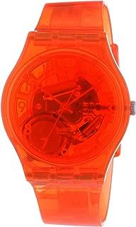 Swatch Men's G0114 Abricotier Year-Round Analog Quartz Orange Watch
