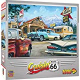 MasterPieces Cruisin' Route 66 1000 Puzzles Collection - On The Road Again 1000 Piece Jigsaw Puzzle