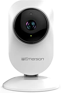 Emerson Radio Emerson Alexa Compatible WiFi Indoor Wireless Security Camera 720P. Two Way Talk, Motion Detection, Night Vi...