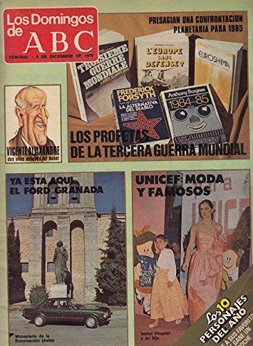 LOS DOMINGOS DE ABC (Entrevista a Vicente Aleixandre; Hace setenta años, Europa...