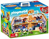 Playmobil Zoo 5870 Veterinary Clinic with Carrying Case
