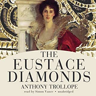 The Eustace Diamonds audiobook cover art
