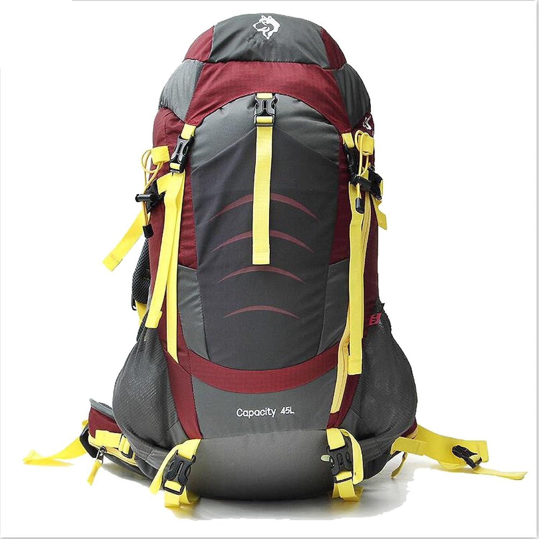 DYYTR 55L Reiserucksack Trekking Wandern Bergsteigen Klettern Camping Rucksack Für Mnner Frauen