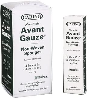 Medline Caring Non-Woven Gauze Sponges - Non-Sterile, Bulk - 2