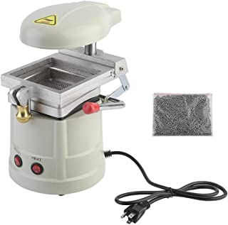 Belovedkai Dental Vacuum Forming Machine Non-Corrosive Former, Dental Equipment, Power Former Heat Molding Tool With Bag Steel Grits