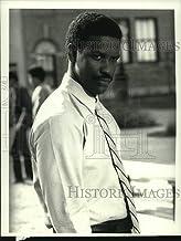 Historic Images - 1989 Press Photo Denzel Washington in The George McKenna Story