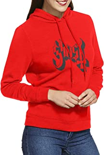 Ghost B.C. Basic Lightweight Pullover Hoodie Sweatshirt for Women Black