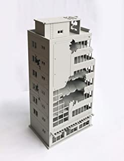 Outland Models 模型風景 市廃墟の建物は放棄されたモールNゲージ