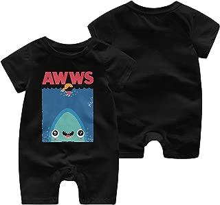 HOUFOUCC AWWS Baby Onesie Organic Short-Sleeve Bodysuit