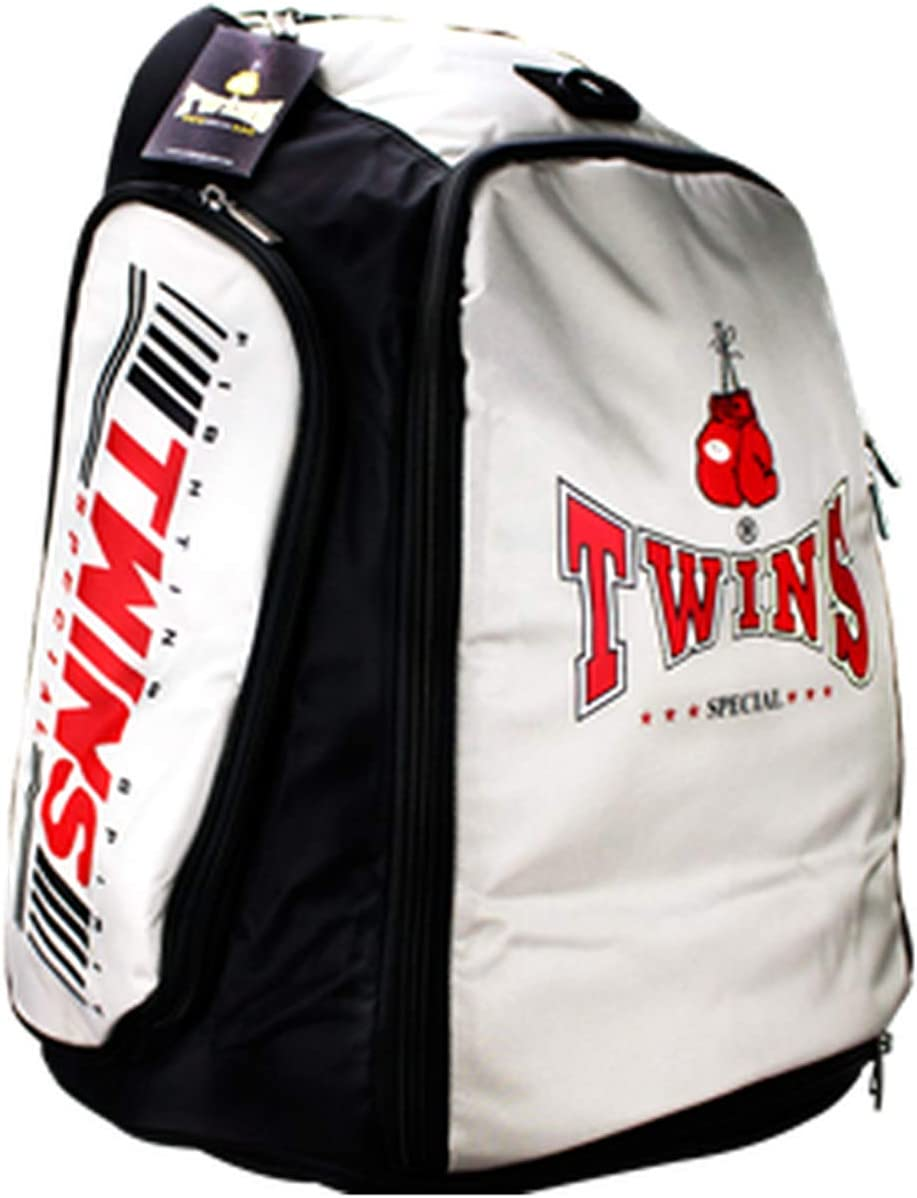 TWINS SPECIAL BACKPACK BAG-5 RED GYM BAG BOXING EQUIPMENT MUAY THAI MMA K1