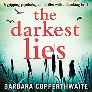 The Darkest Lies audiobook cover art