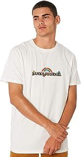 Banks Men's Rainbow Journal Mens Tee Cotton White