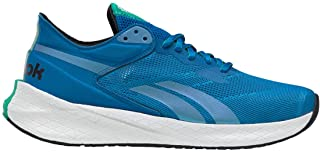 Reebok Men's Floatride Energy Symmetros Running Shoe - Color: Dynamic Blue/Horizon Blue/Court Green - Size: 8 - Width: Regular